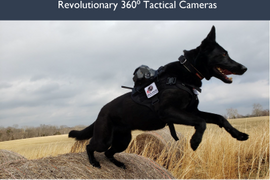 Revolutionary 360° Tactical Cameras