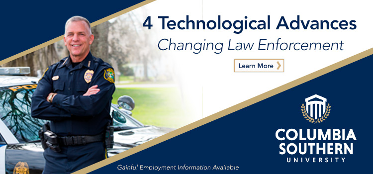 4 Technological Advances Changing Law Enforcement