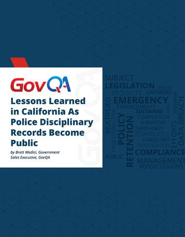 Lessons Learned in California As Police Disciplinary Records Become Public
