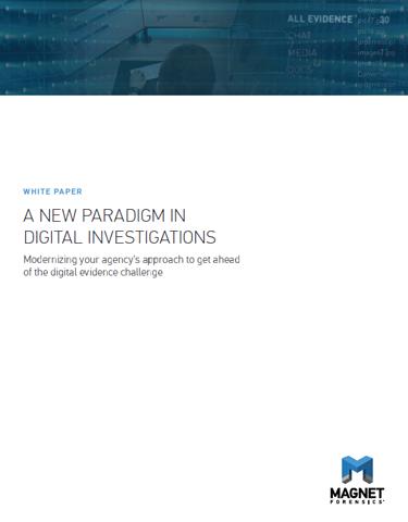 A New Paradigm in Digital Investigations