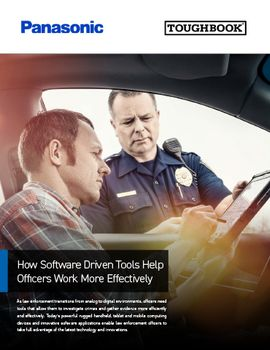 How Software Driven Tools Help Officers Work More Effectively