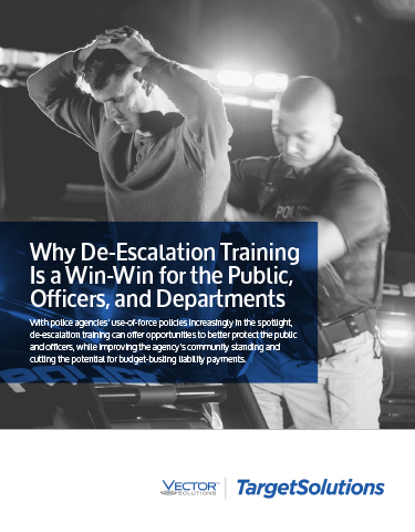 Why De-Escalation Training Is a Win-Win for the Public, Officers and Departments