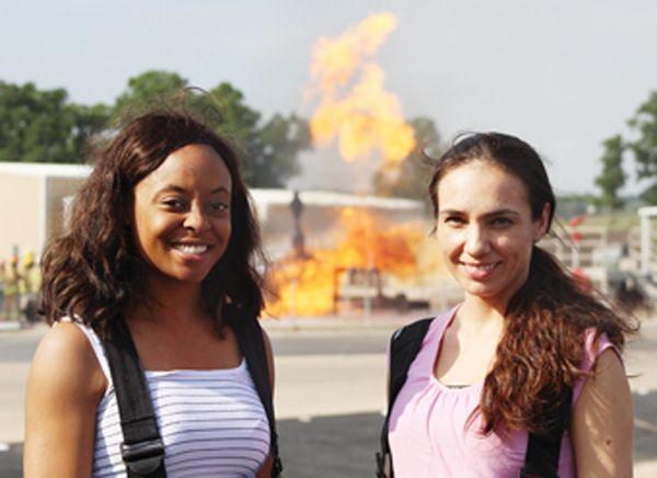 Left to right Antoya Ellisand Vanessa Aguayo - Photo by Anton Riecher