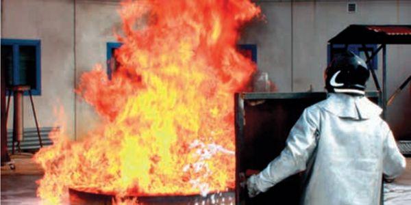Fire foam manufacturer Auxquimia's scientific testing facilities located in Spain.