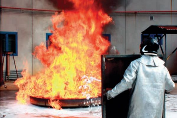 Fire foam manufacturer Auxquimia's scientific testing facilities located in Spain. - Photo courtesy of Auxquimia