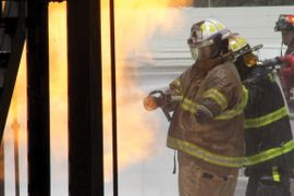 Refinery Firefighter Tackles any Challenge Single Handed