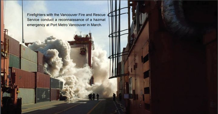 - Photos courtesy of Vancouver Fire and Rescue Service