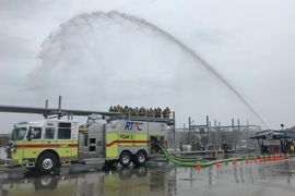 Apparatus Makers Participate in Hellfighter U Foam Training