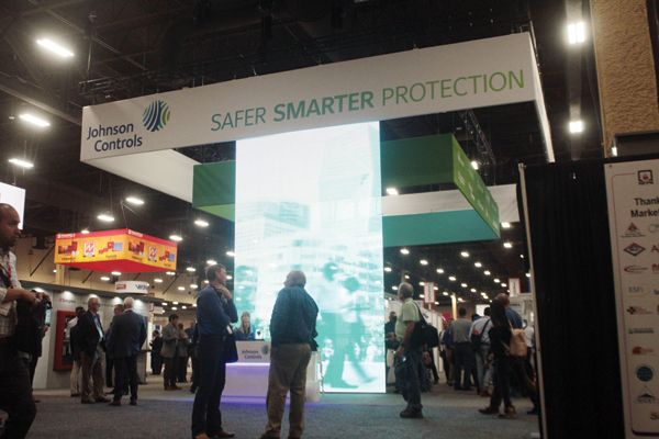 Detect 360 was among the new products presented by Johnson Controls at the 2018 NFPA Expo last June in Las Vegas. - Photo by Anton Riecher