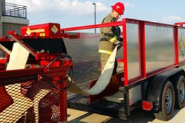 Baker Fabrication's Hose Retrieval Systems