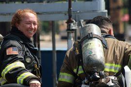 Chevron Veteran Returns to Brayton Fire Training Field