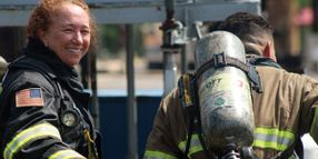 Chevron Veteran Returns to Brayton Fire Training Field