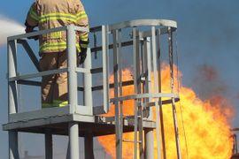 LyondellBasell Brings ERT to Brayton Fire Training Field