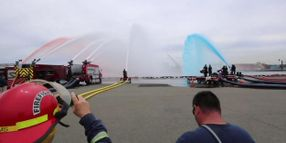Training Operation Breaks Flow Record for Fire Water