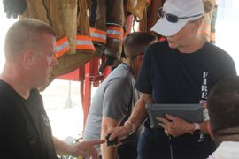 Phillips 66 Tracks Firefighters' Cardiac Health