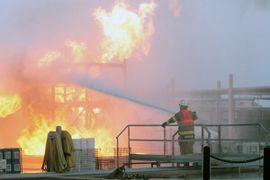 Phillips 66 Tracks Firefighters on the Job