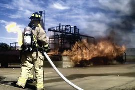 Texas Fire School Resumes Summer Industrial Training