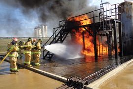 Valero Firefighters Train in Memphis