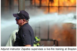 Retired Industrial Chief's Fire Instruction