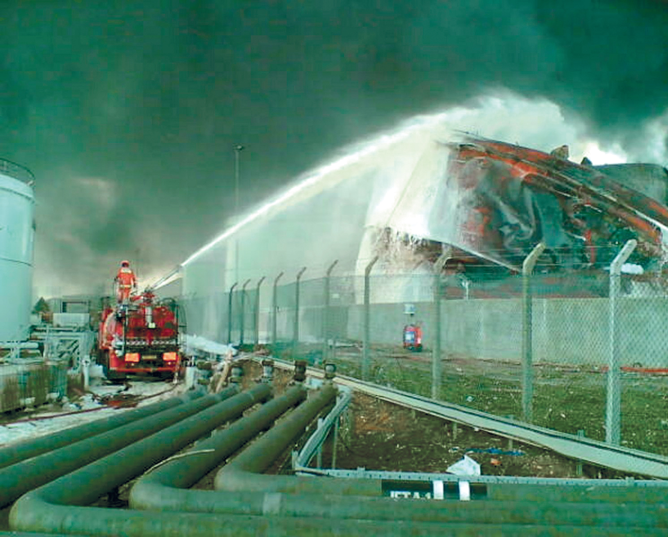 December Marks the 15th Anniversary of the Buncefield Depot Disaster