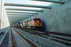 Battling an Industrial Tunnel Blaze