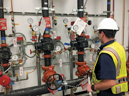 Conducting routine checks and flow tests on fixed systems to ensure their operational readiness is an important part of any emergency pre-planning. -