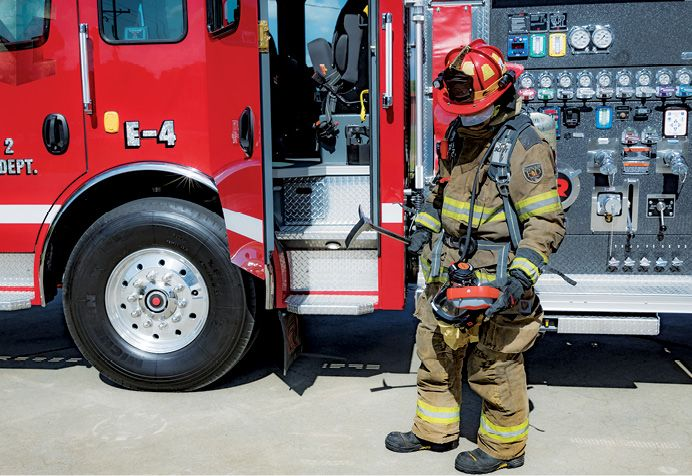 Lack of training and familiarity results in not using the detector on calls where it would be beneficial. - Photocourtesy of Tony Cole.