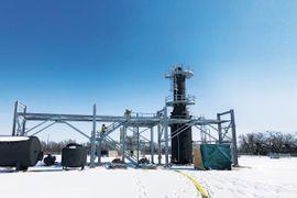 Kansas Refinery's First-Tier Fire Training Field