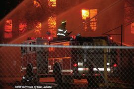 Fire Guts Historic Rhode Island Rubber Mill