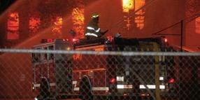 Fire Guts Historic Rhode Island Rubber Mill