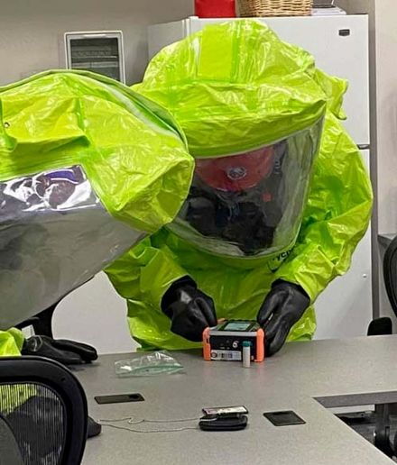 """Mahoning County Hazardous Materials Response Agency makes sure training isn't """"death by PowerPoint"""" by making training engaging and hands on. - Mahoning County Hazardous Materials Response Agency"""