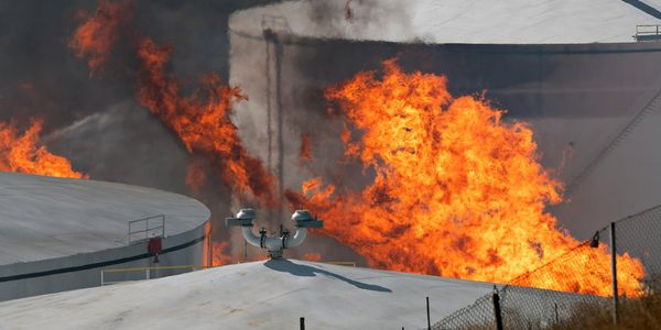 Battling tank fires requires competent understanding about the product on fire, tank design,...
