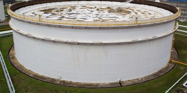 Floating roofs float on top of a product, such as crude oil, in a storage tank. As the level of...