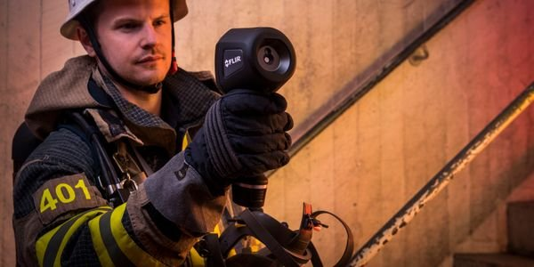Thermal imagers allow first responders to peer through smoke and even structures to see what's...
