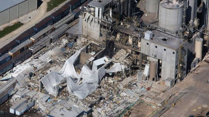The Didion Milling Inc. explosion in 2017 highlights the risk combustible dust explosions pose to workers and facilities. This incident marks the worst combustible dust event since deadly Imperial Sugar blast a decade earlier. - Explosion Hazards
