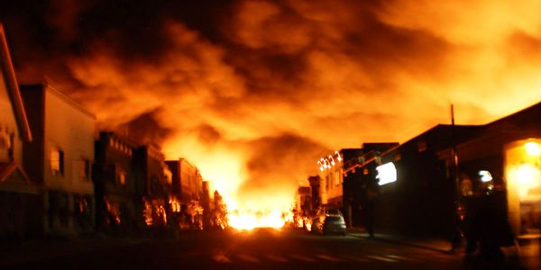 Industrial fires begin small butmay not stay that way very long. Thesooner we know about them...