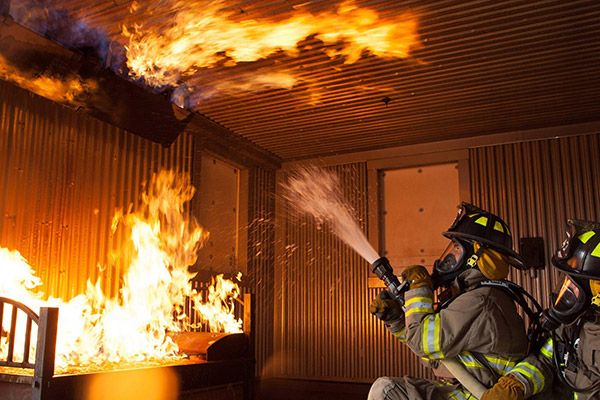 Materials that release heat, sensors that track firefighter health, and more also improve workplace safety. - Creative Commons