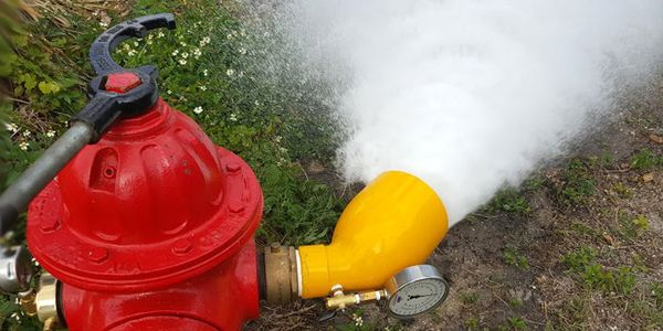 The principal purpose of fire flow testing is to verify available water and identify possible...