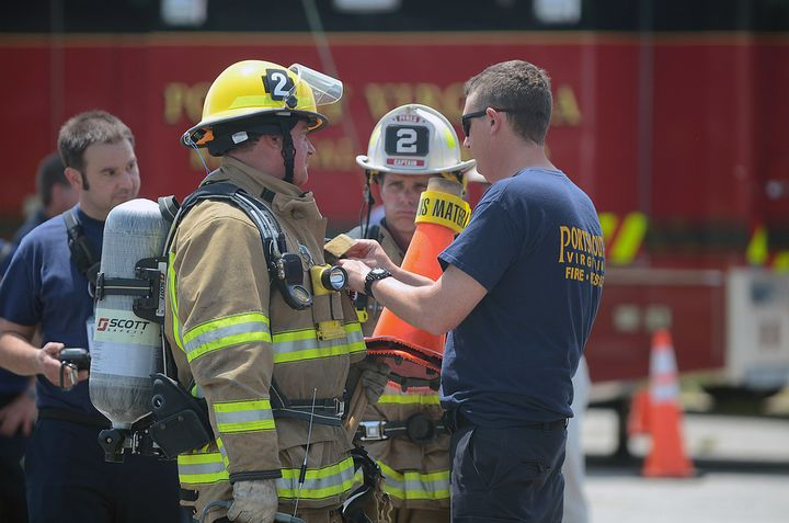 It's impossible to alter the risk factor of a hazmat incident, but firefighters can improve their response through training. - Flickr
