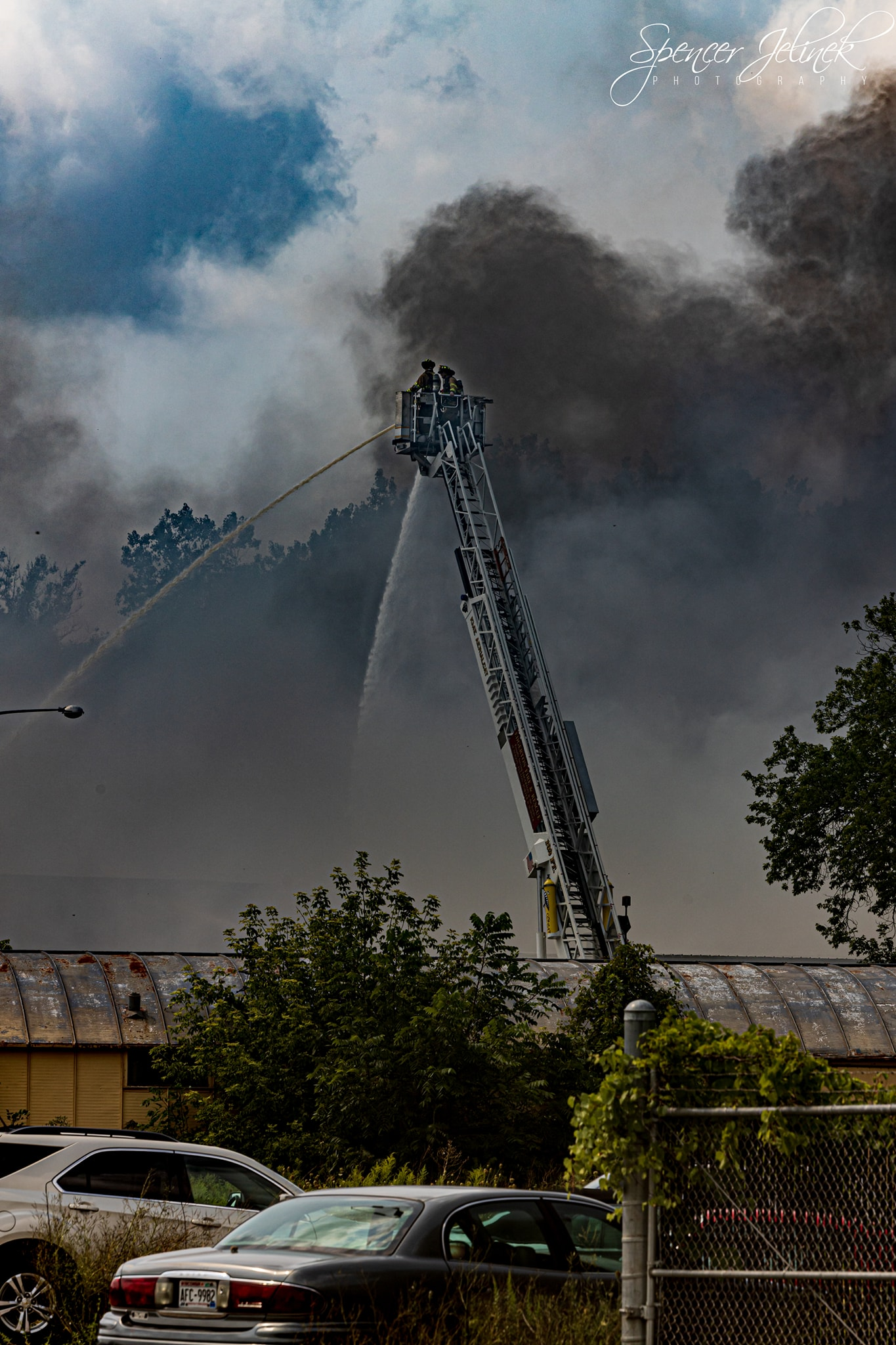 Ladder Use at Industrial Emergencies