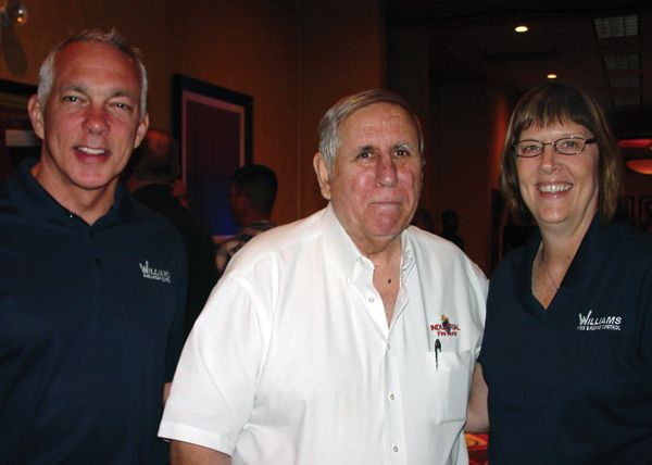 From left, Brian Young, David White and Colleen Repplier - Photo by Anton Riecher