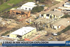 2 Killed in Northwest Houston Factory Explosion