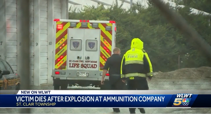 An Ohio ammunition plant was the scene of a fatal explosion in July 2019. - Screencapture Via KLWT