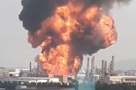 Massive Fireball Erupts at Chinese Petrochemical Plant