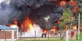 Biofuel Tank Fire Kills 1, Injures 2 in Argentina