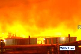 Blaze Spread Through Louisiana Refinery Via Pipe Rack