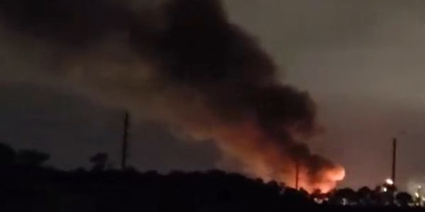 Flaring at a chemical plant in Baytown, Texas, was mistaken for a fire emergency.
