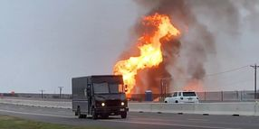 Brief Pipeline Fire Disrupts Holiday in Texas