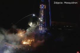 Rail Car Repair Factory Burns in Poland