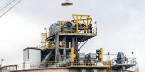 Medical Emergency Traps Worker Atop Ohio Grain Silo